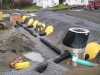 preparation and installation of  a state of the art infiltrator system for storm water