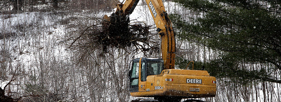 Land Clearing - LaFever Excavating, Inc
